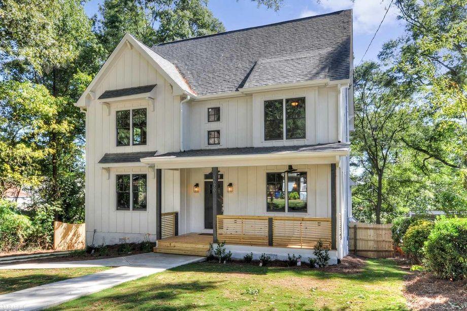 A $549,000 modern farmhouse listed on Kirkwood's Dixie Street this year.