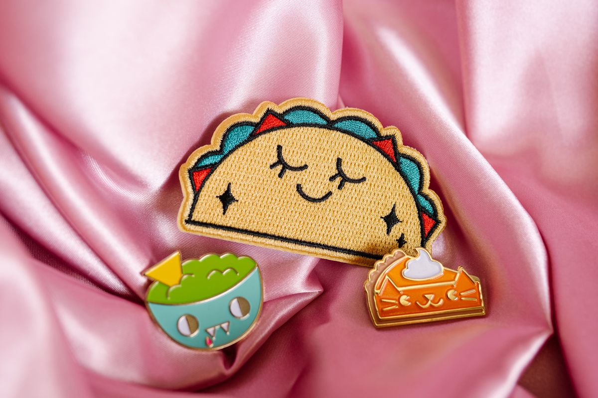 Pins and patches from I.Heart.Avocado