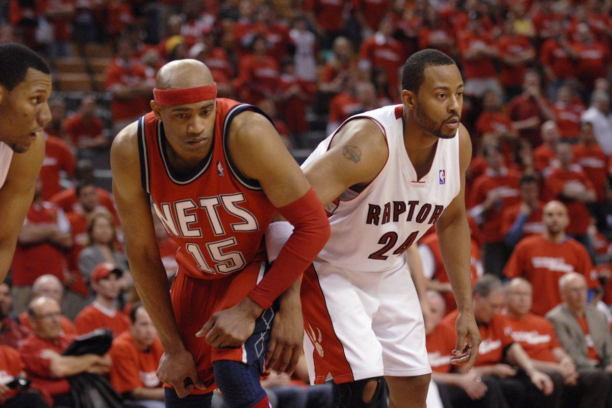 New Jersey Nets v Toronto Raptors, Game 1