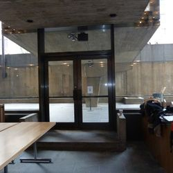 Door outside - there will be cafe seating out there.