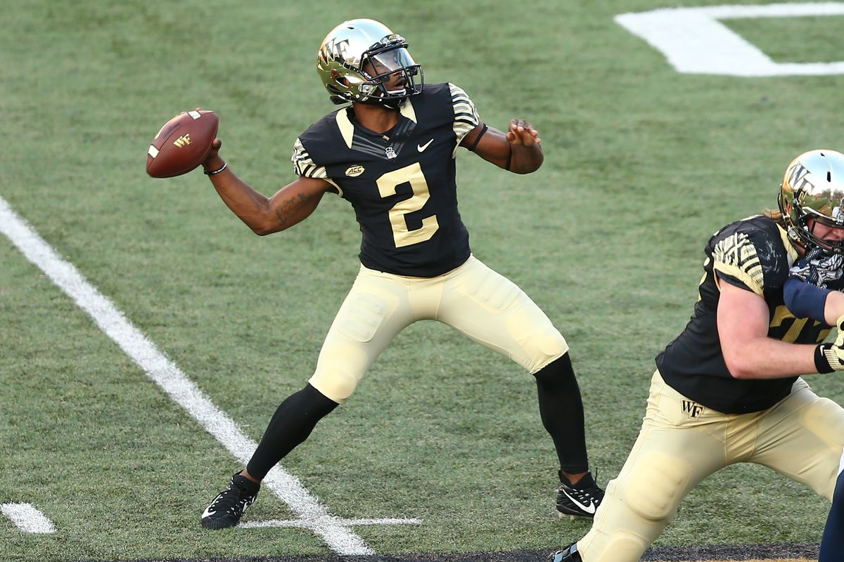 Wake Forest Hosts Syracuse Depth Chart Musings