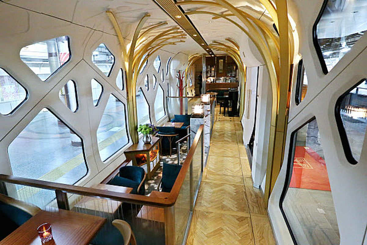 Luxury Sleeper Train By Ferrari Designer Embarks On Maiden