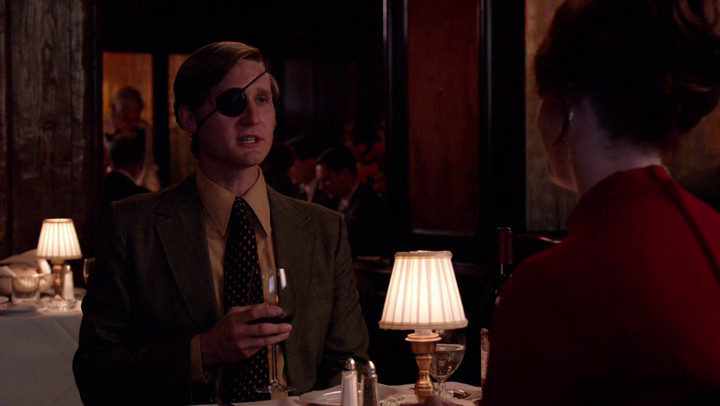 Ken invites Joan to join his crazy scheme on Mad Men.