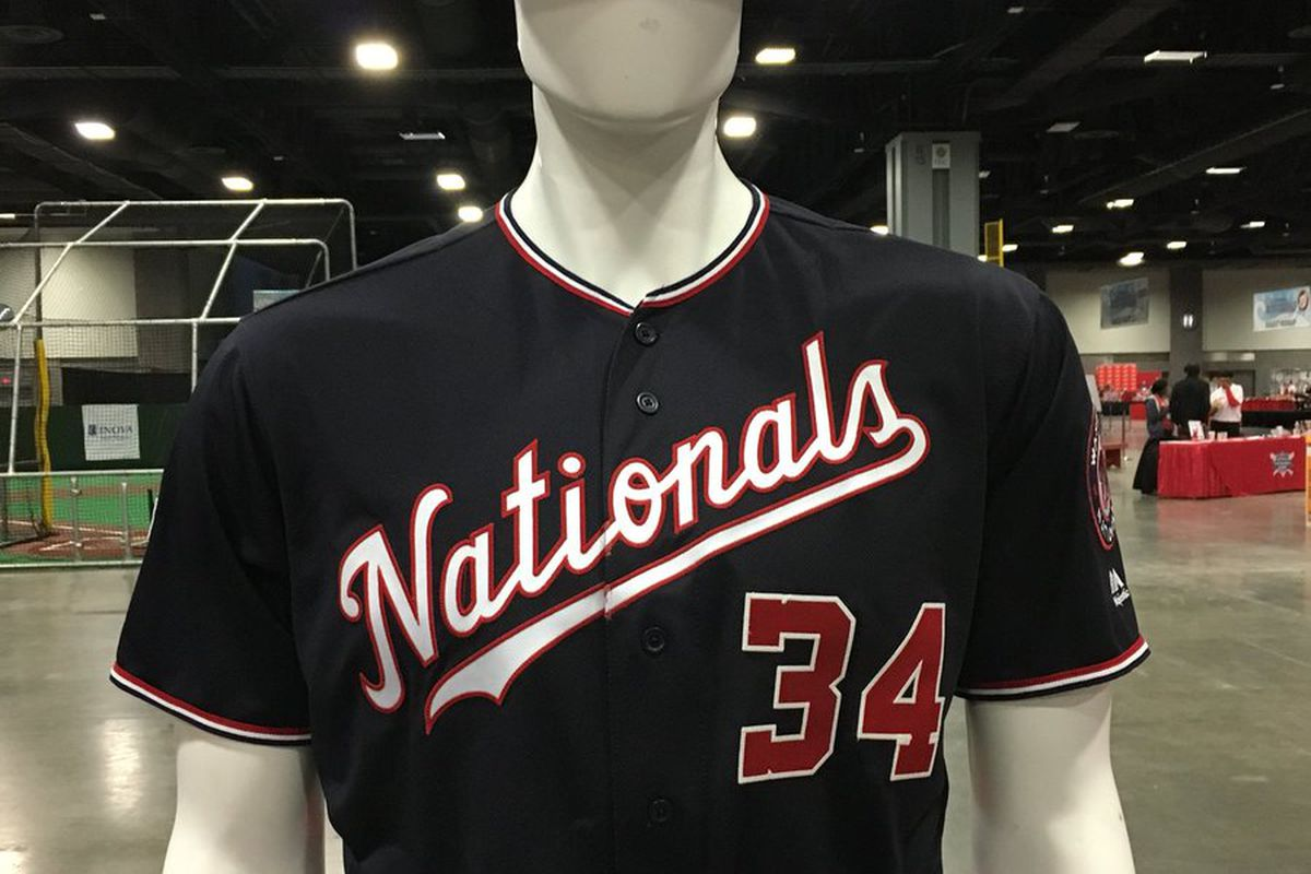 huge discount 9e1b3 26652 washington nationals jersey 2018