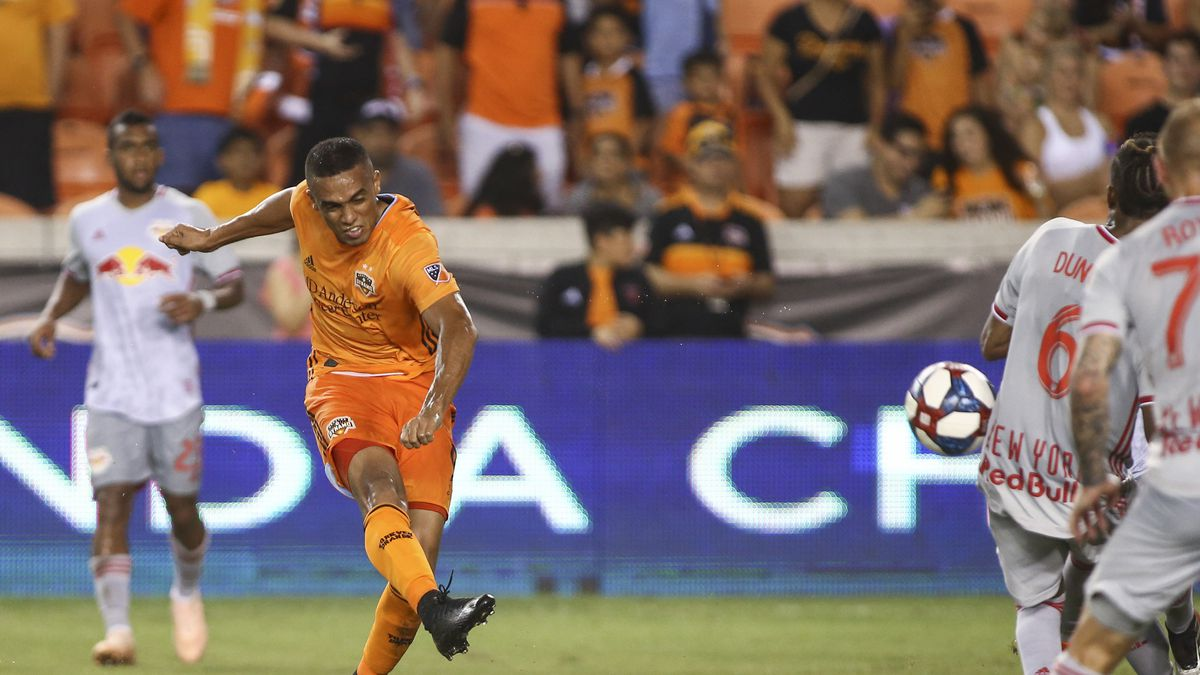 MLS: New York Red Bulls at Houston Dynamo