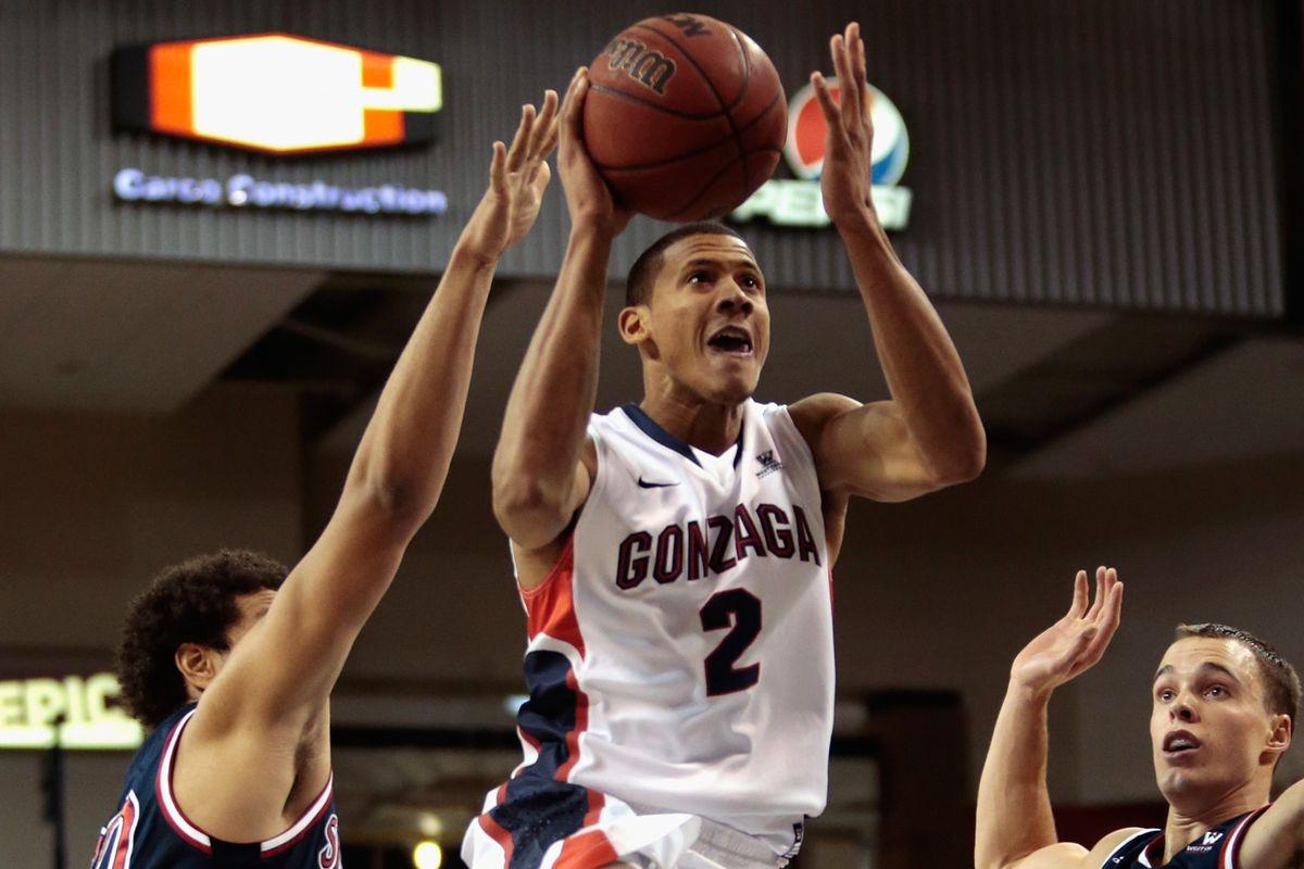 Angel Nunez had a breakout game for the Zags, against their chief rival no less.