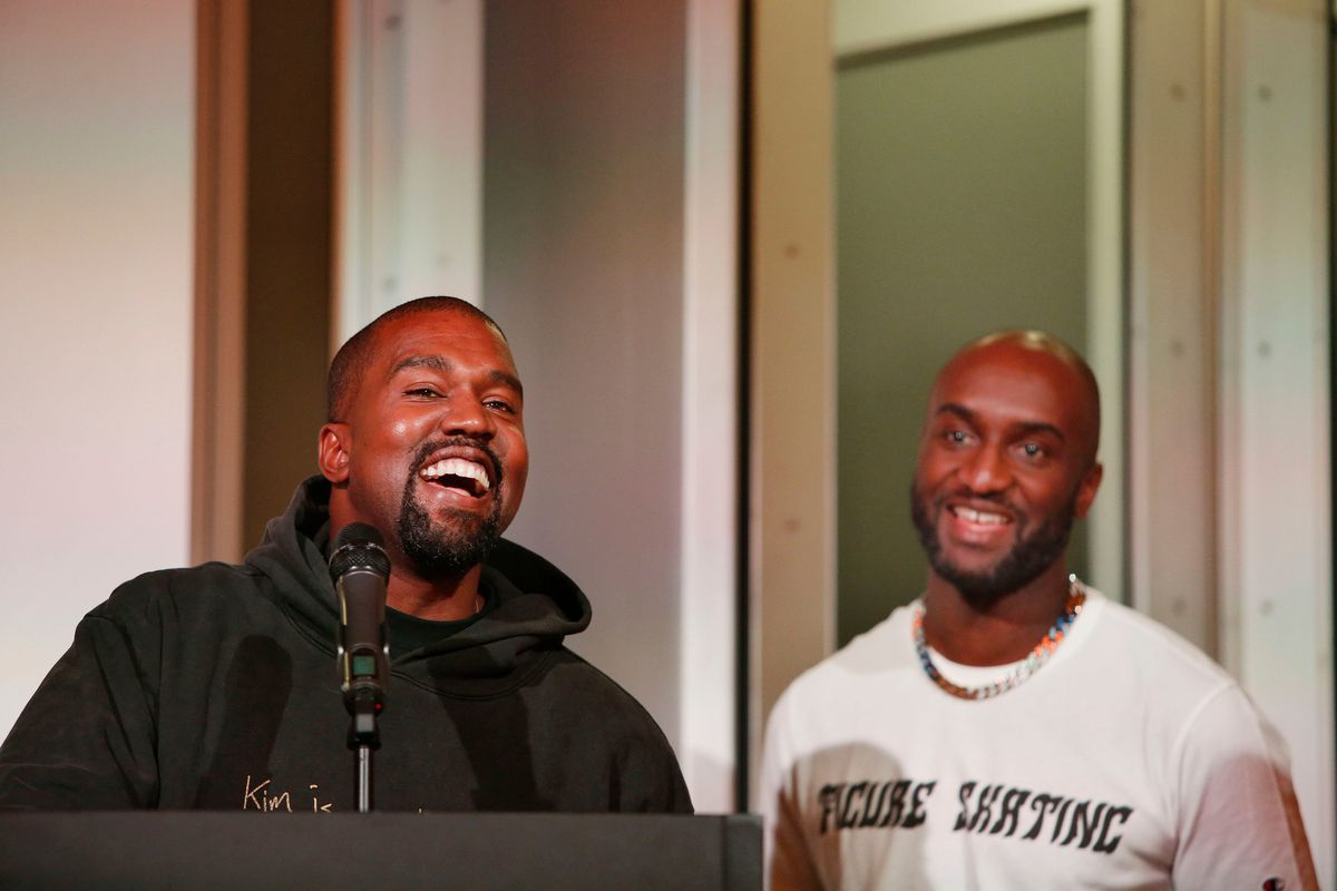 Kanye West checks out Virgil Abloh exhibit at MCA - Chicago