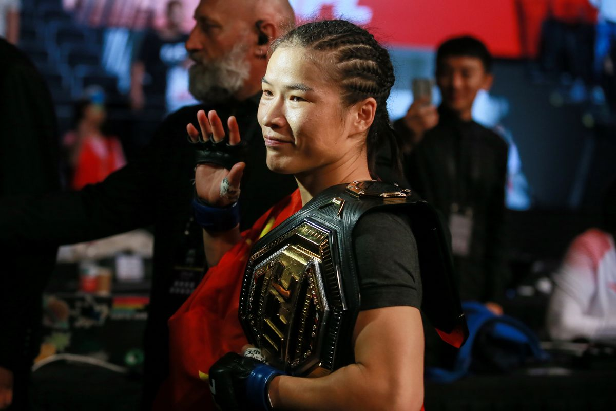 Weili Zhang changes plans, to finish camp in Las Vegas due to coronavirus outbreak