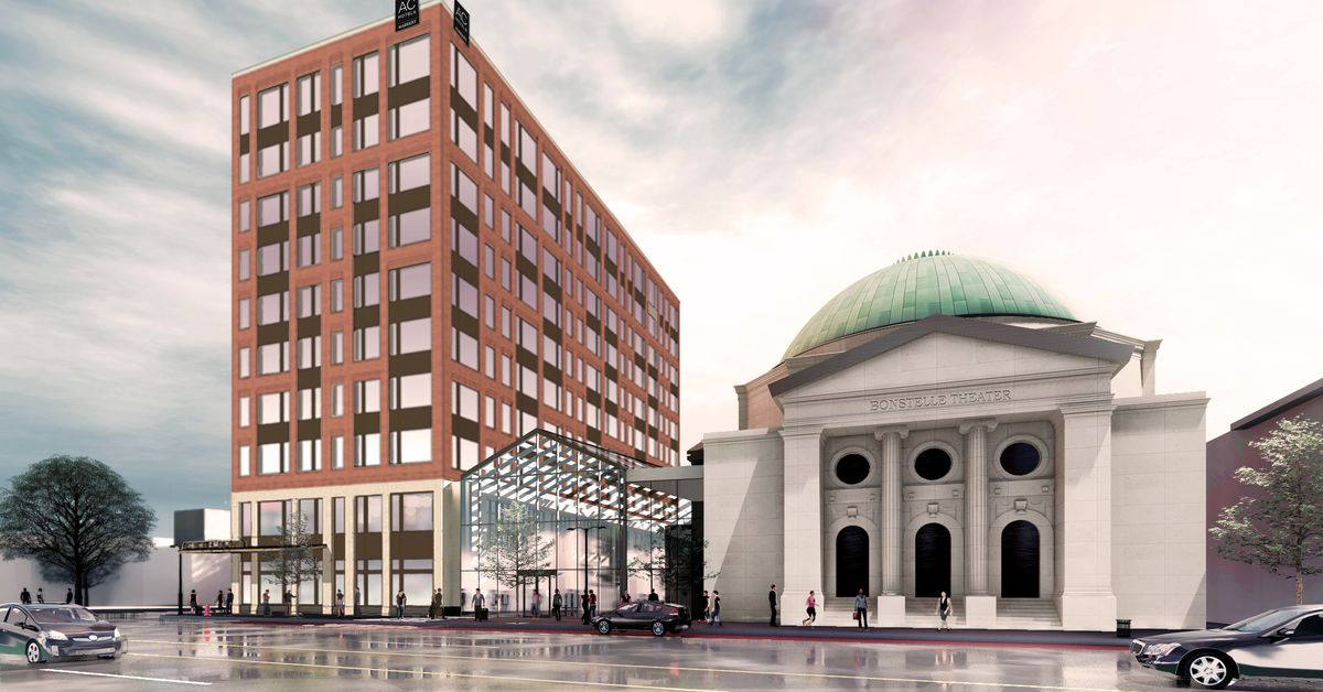Redevelopment of Bonstelle Theatre still moving forward, now with AC Hotel