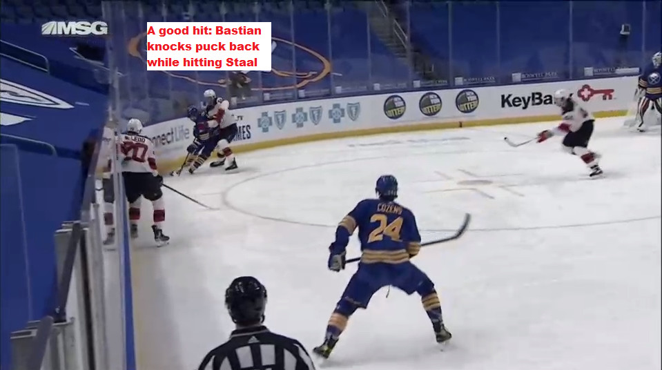 Another angle of Part 6, Bastian's hit on Staal