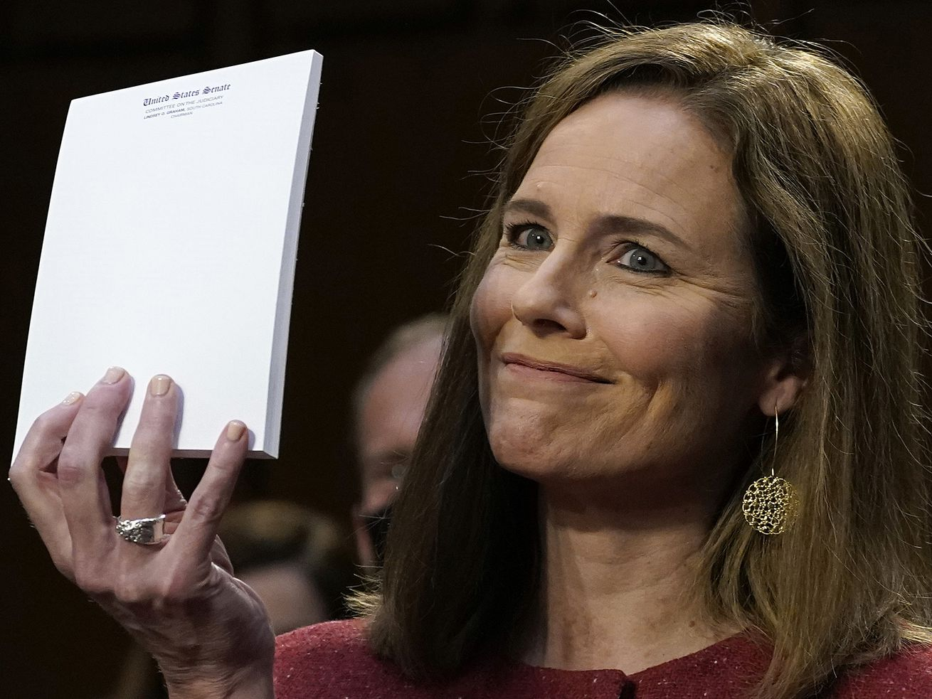 In our opinion: Barrett doesn't need notes to be principled. That's hard for Congress to understand