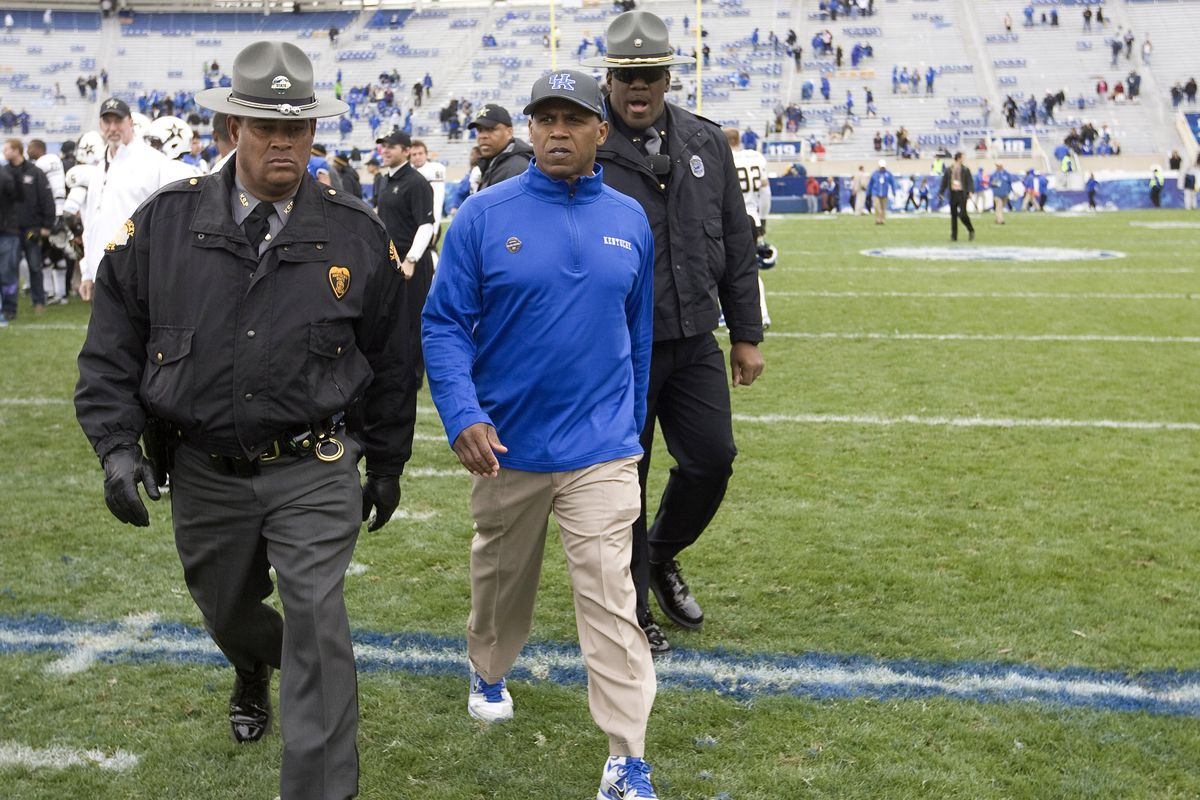 Joker Phillips will not be retained as head coach at Kentucky.