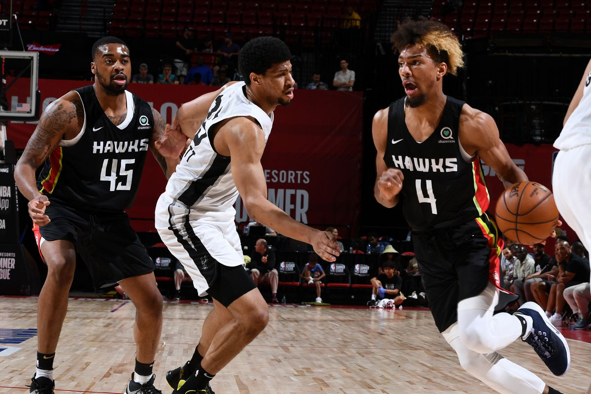2019 Las Vegas Summer League - Day 8 - Atlanta Hawks v San Antonio Spurs