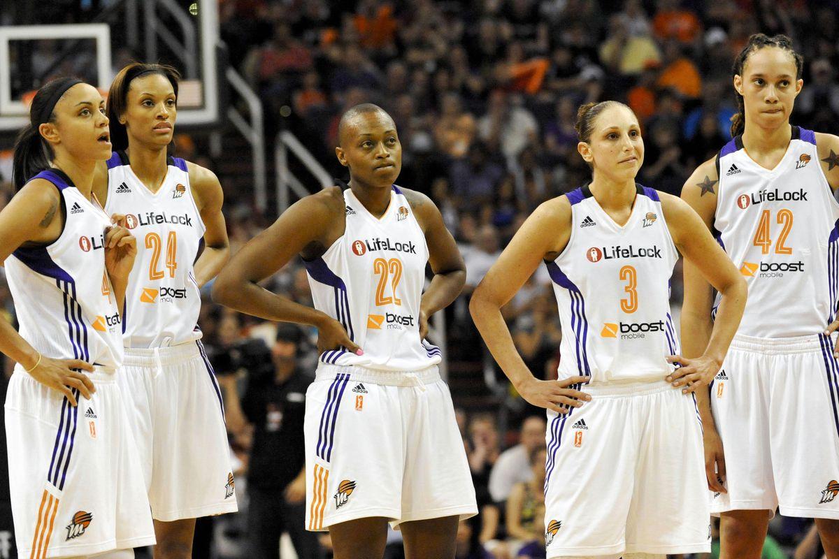 The Phoenix Mercury's five leading scorers.