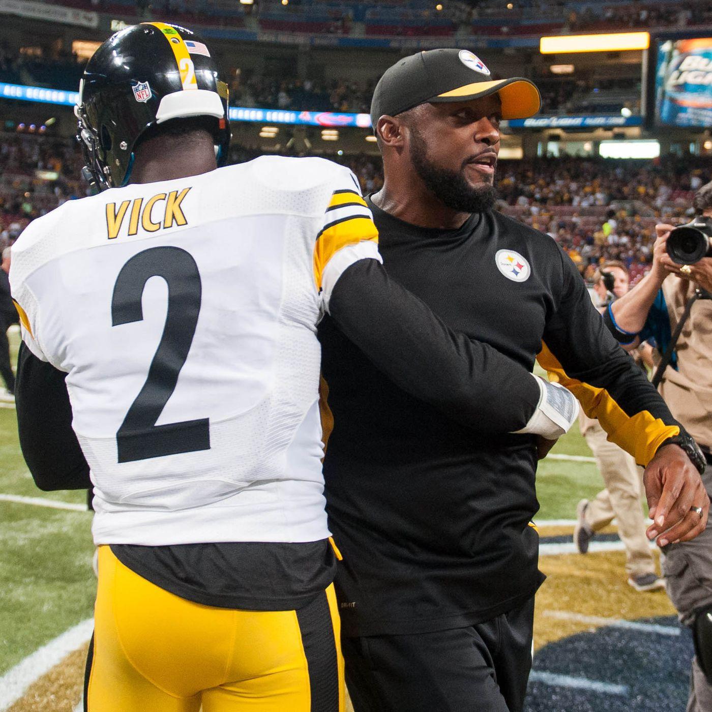 factory authentic 0e0ea aae0c Pittsburgh Steelers quarterback Michael Vick faces perhaps ...