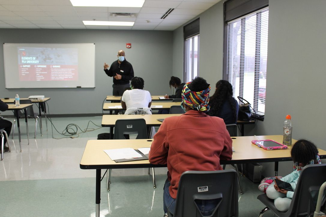 Phalen Leadership Academies launched their PLA University workforce development program to help adult relatives of students obtain credentials for high-demand fields.