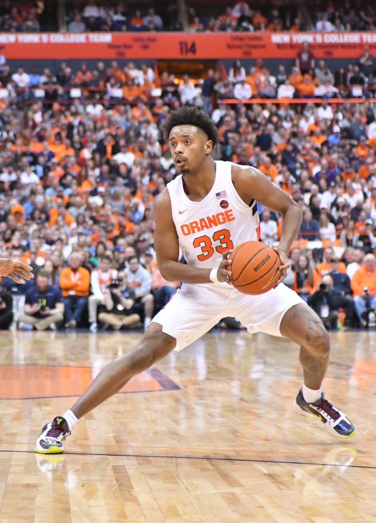 Basketball NCAA: North Carolina in Syracuse