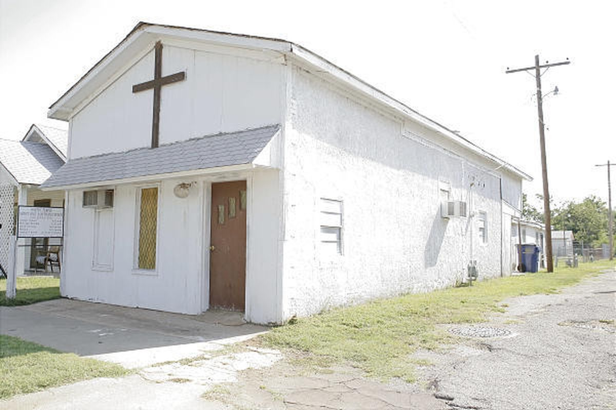 The body of Pastor Carol Daniels of Oklahoma City was found early Sunday inside the Christ Holy Sanctified Church building in Anadarko, Okla. No arrests have been made in the case.