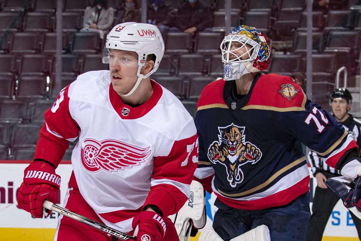 """Florida Panthers v Detroit Red Wings""""n"""
