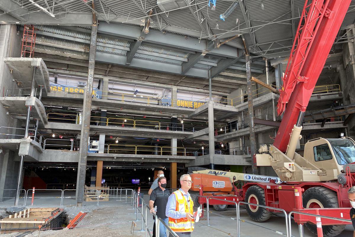 Talking Stick Resort Arena houses the Phoenix Suns