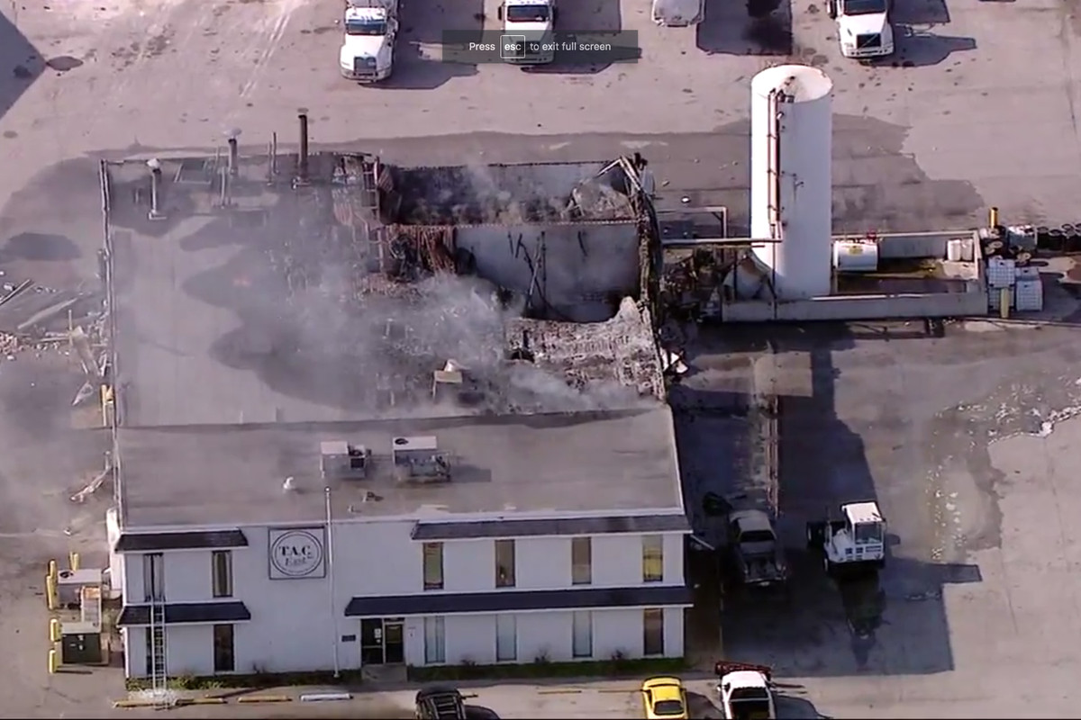 East Chicago explosion: 3 employees burned at tank cleaning company