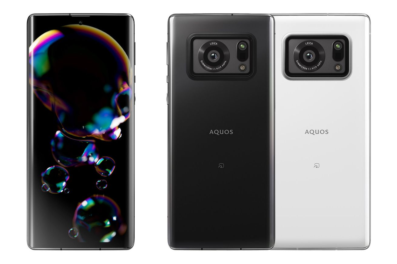 Sharp's new flagship phone has a giant 1-inch camera sensor and Leica branding
