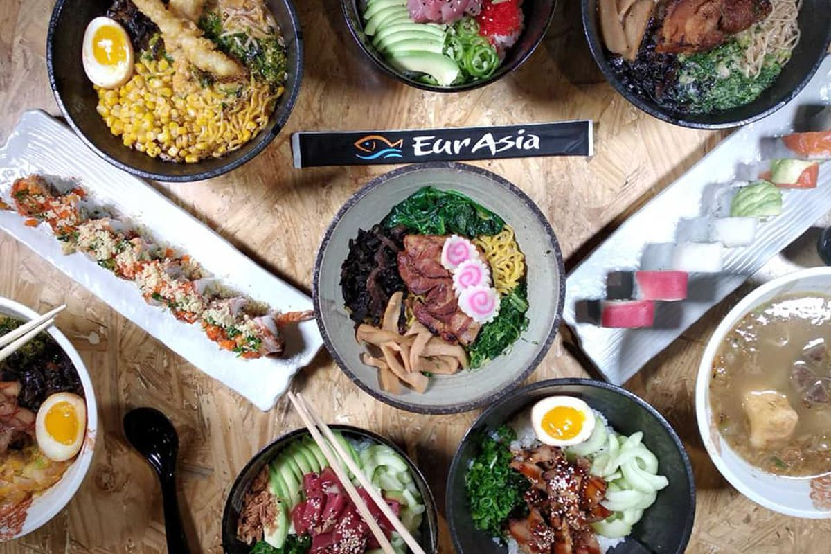 New Restaurant Eurasia Ramen Opens With Poke And Sushi In