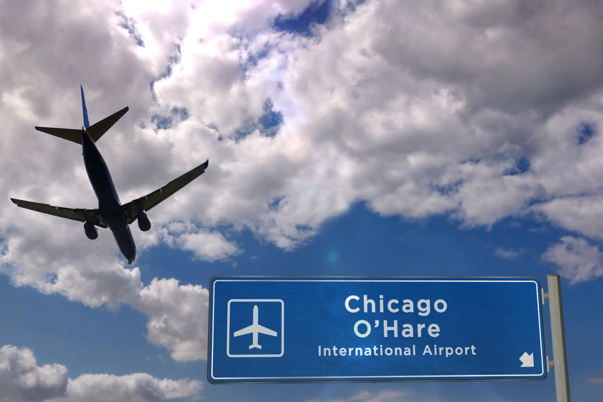 A man died after being crushed by airplane equipment Dec. 13 at O'Hare International Airport.