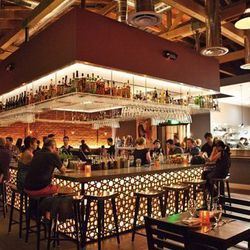 """<a href=""""http://la.eater.com/archives/2012/07/09/ol_check_out_bow_truss_nohos_new_taverna.php"""">LA: Ole! Check Out Bow & Truss, NoHo's New Taverna</a> [Elizabeth Daniels]"""