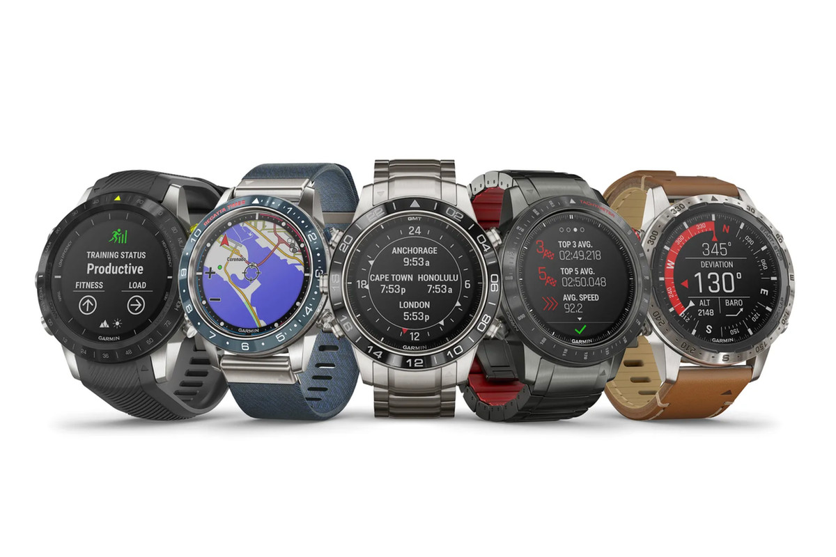 Garmin's $1,500-plus Marq GPS smartwatches take on the luxury watch