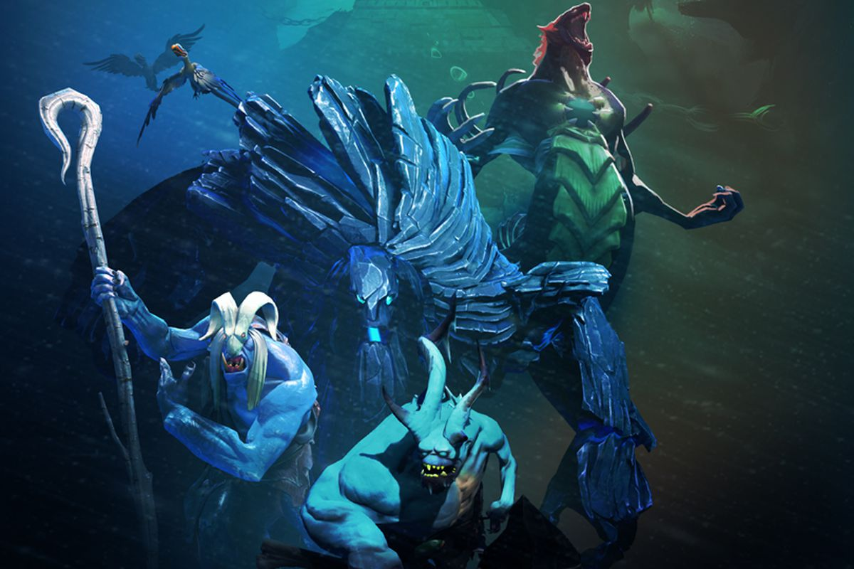 Act II of Siltbreaker, the Dota 2 co-op campaign, adds new