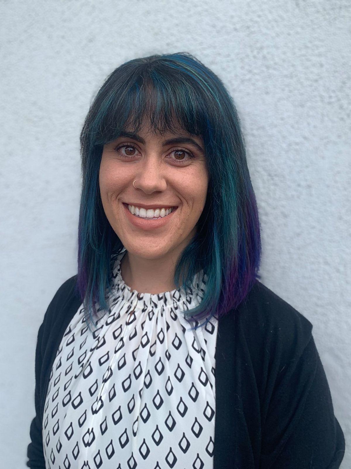 a head shot of a high school teacher