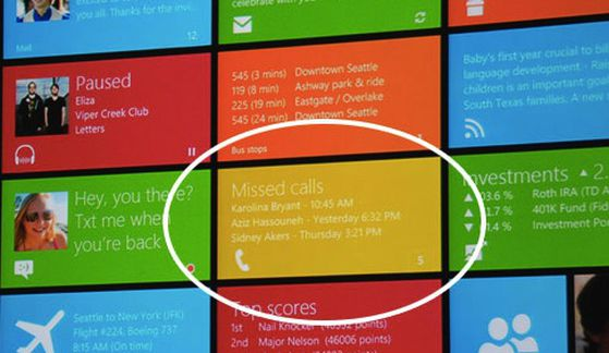 Windows 8 demos hint at phone integration? - The Verge