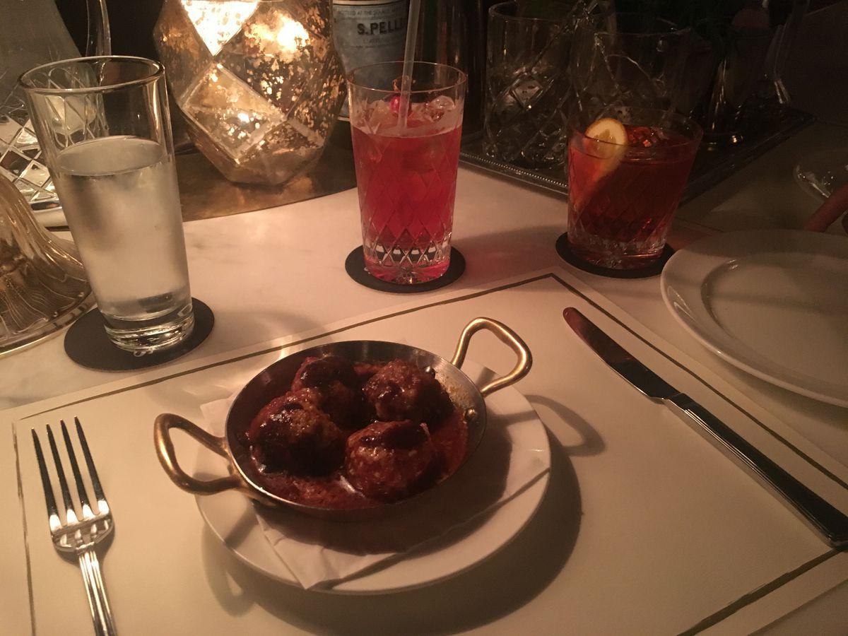 Meatballs at Cecconi's