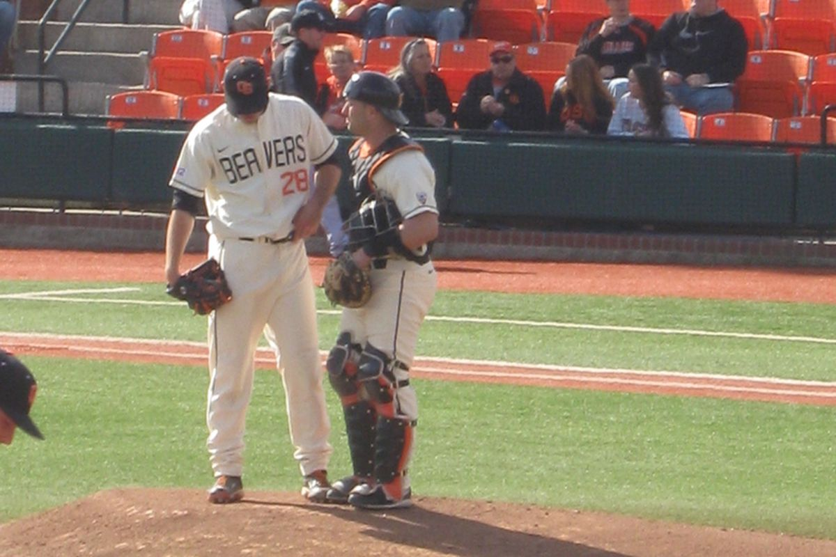 OSU pitching was looking for answers tonight (OSU vs. Bryant game 4)