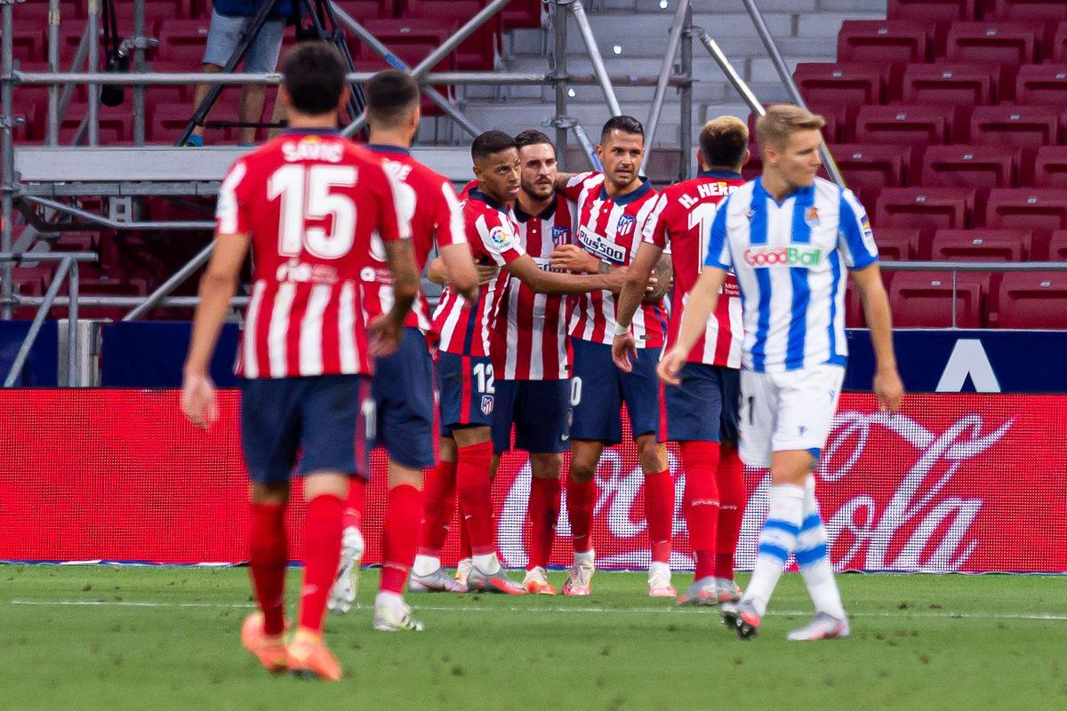 Club Atletico de Madrid v Real Sociedad - La Liga