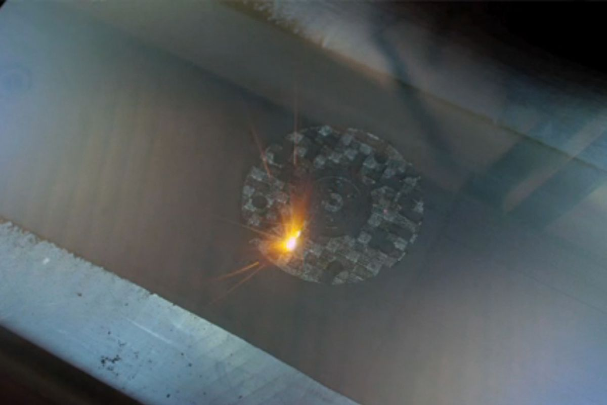 NASA direct metal 3D printing