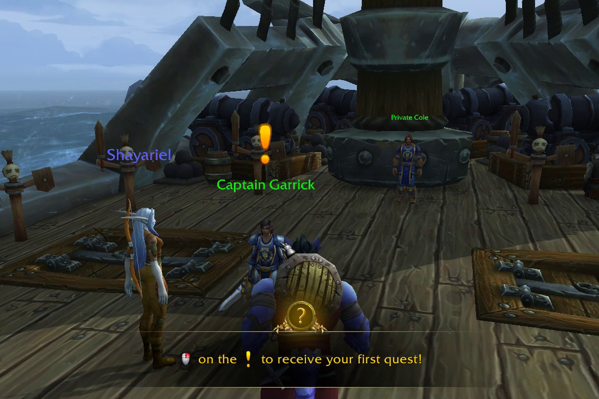 Exile's Reach new player experience World of Warcraft