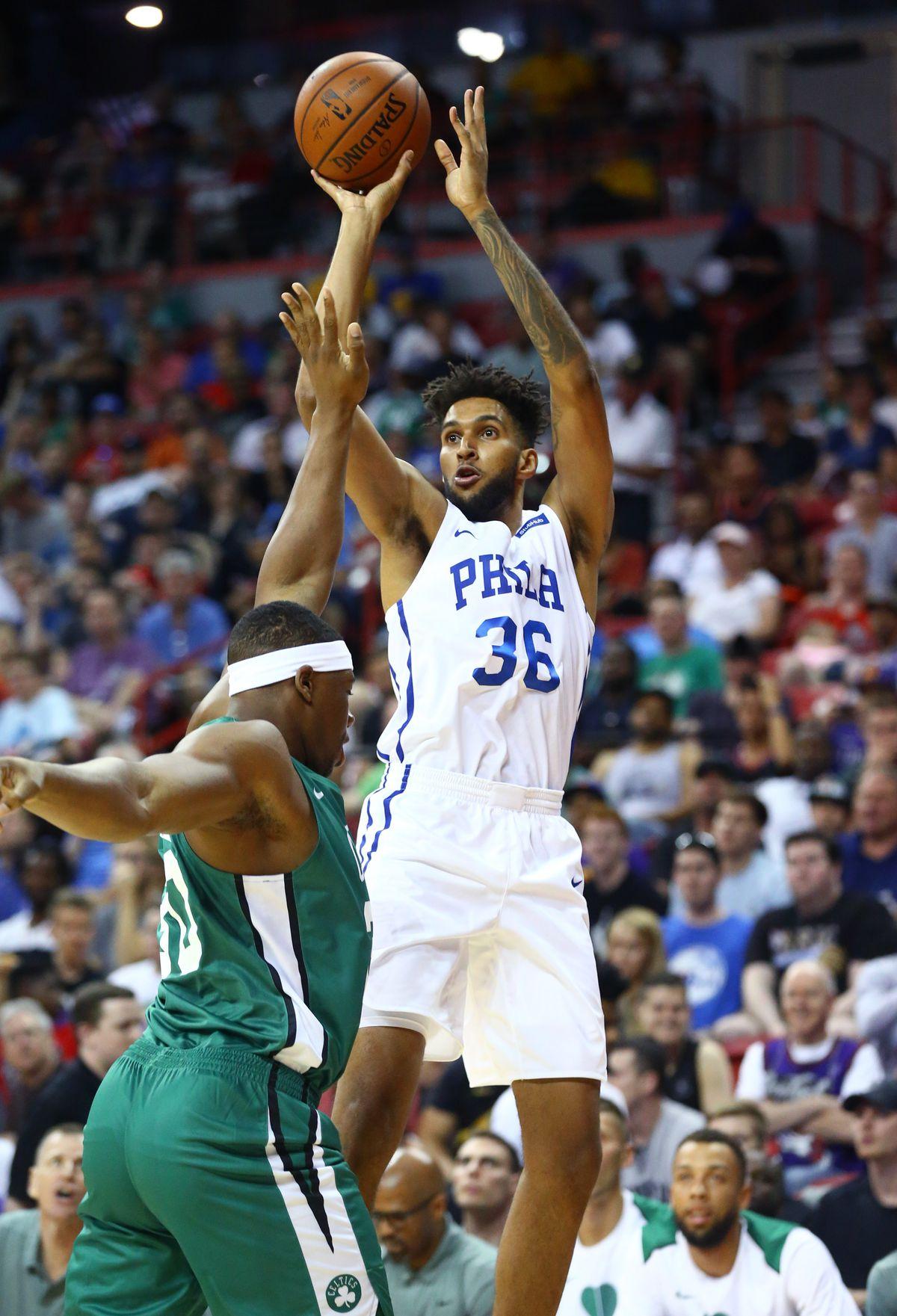 NBA: Summer League-Boston Celtics at Philadelphia 76ers