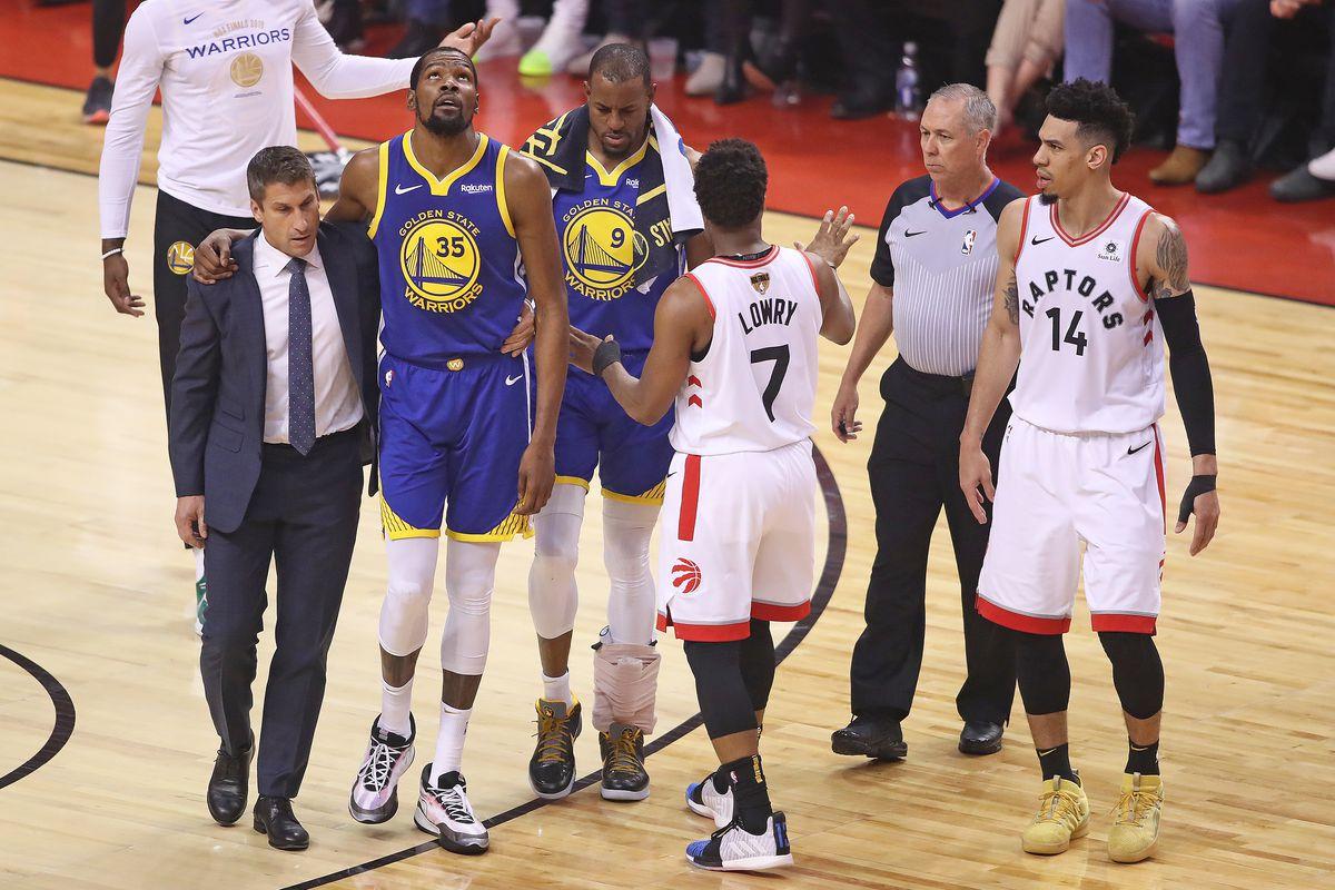 Golden State Warriors v Toronto Raptors - Game Five