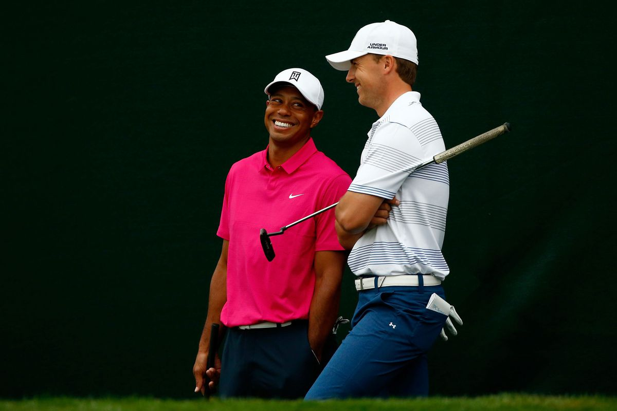 Tiger Woods and Jordan Spieth (GettyImages)