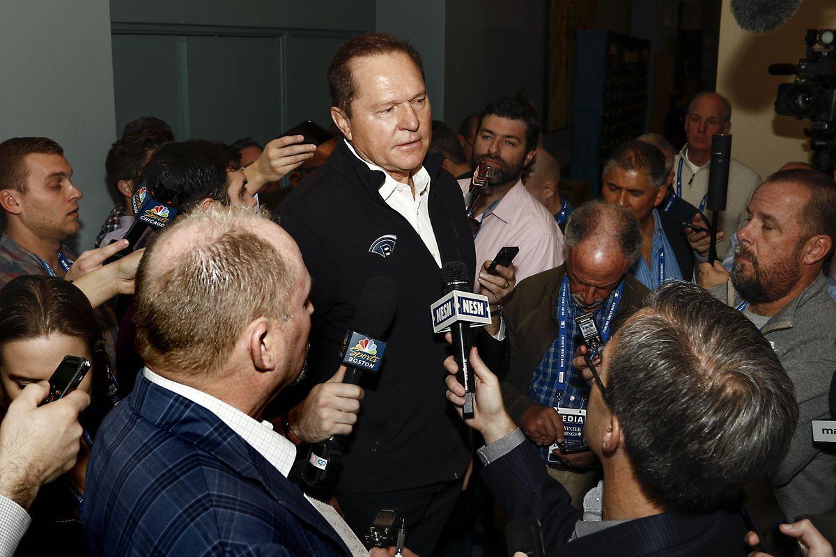 MLB Winter Meetings 2017: Nationals\' GM Mike Rizzo & Scott Boras on ...
