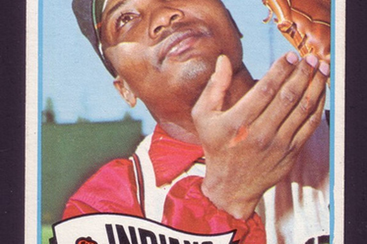 Leon Wagner (photo from Flickr.com, 1965 Indians TOPPS Card #367)
