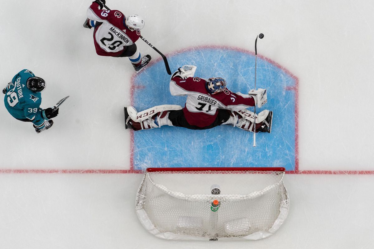 NHL: Stanley Cup Playoffs-Colorado Avalanche at San Jose Sharks