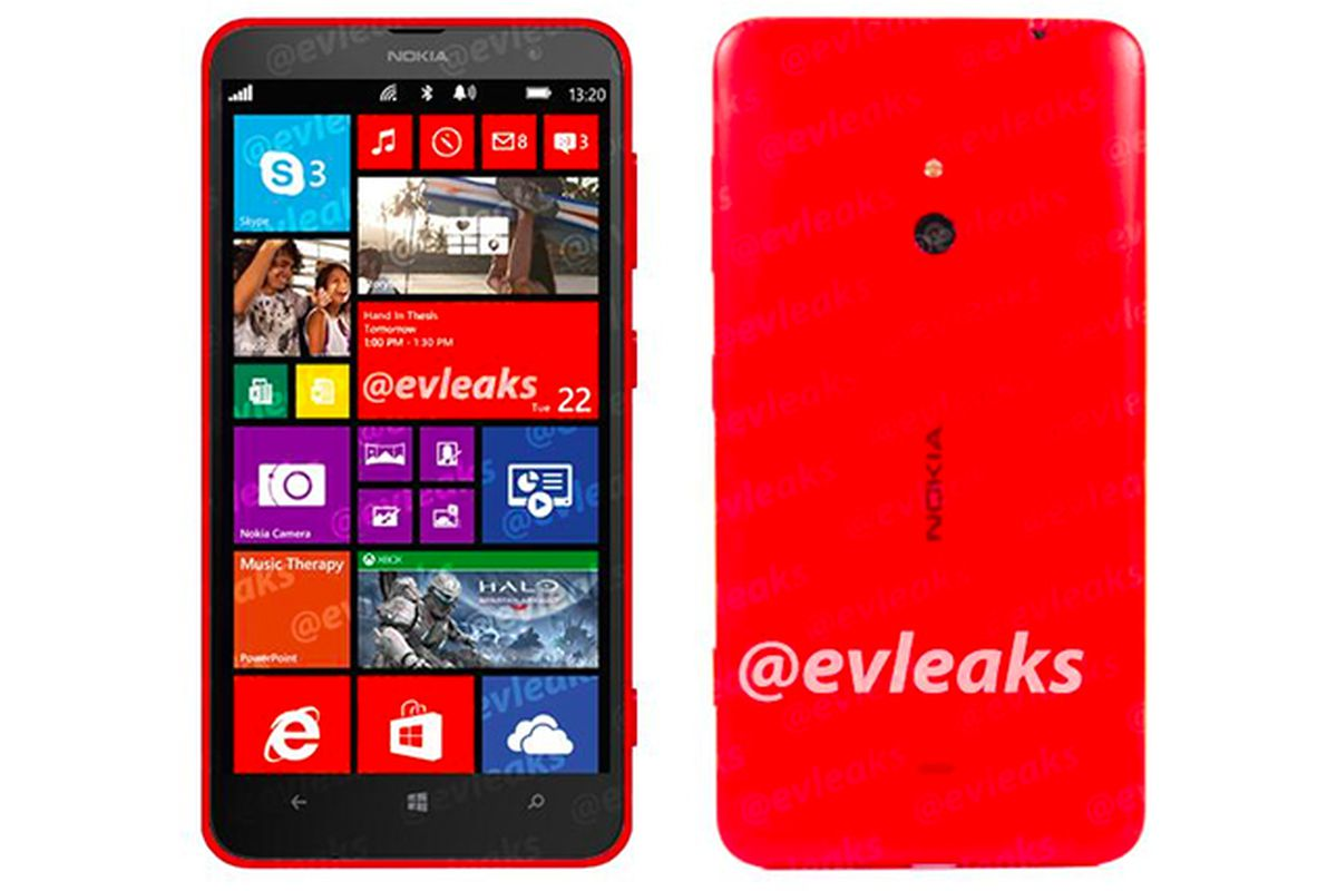Nokia Lumia 1320 pictured in leaked image