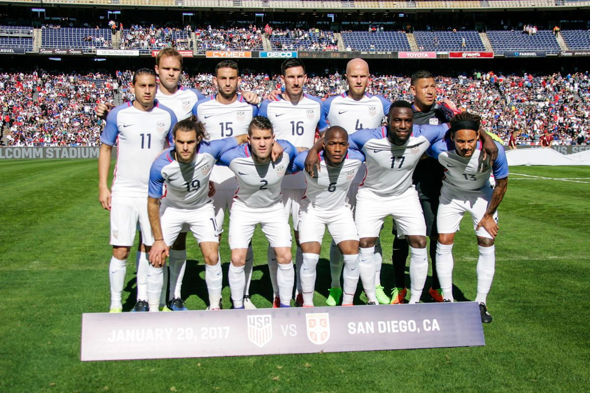 cea786477 Photo by Kent Horner Getty Images. The United States Men s National Team ...