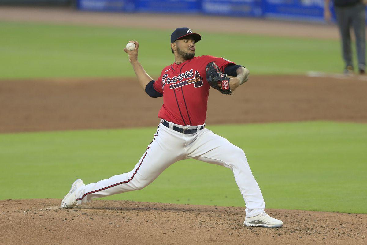 MLB: APR 23 Diamondbacks at Braves