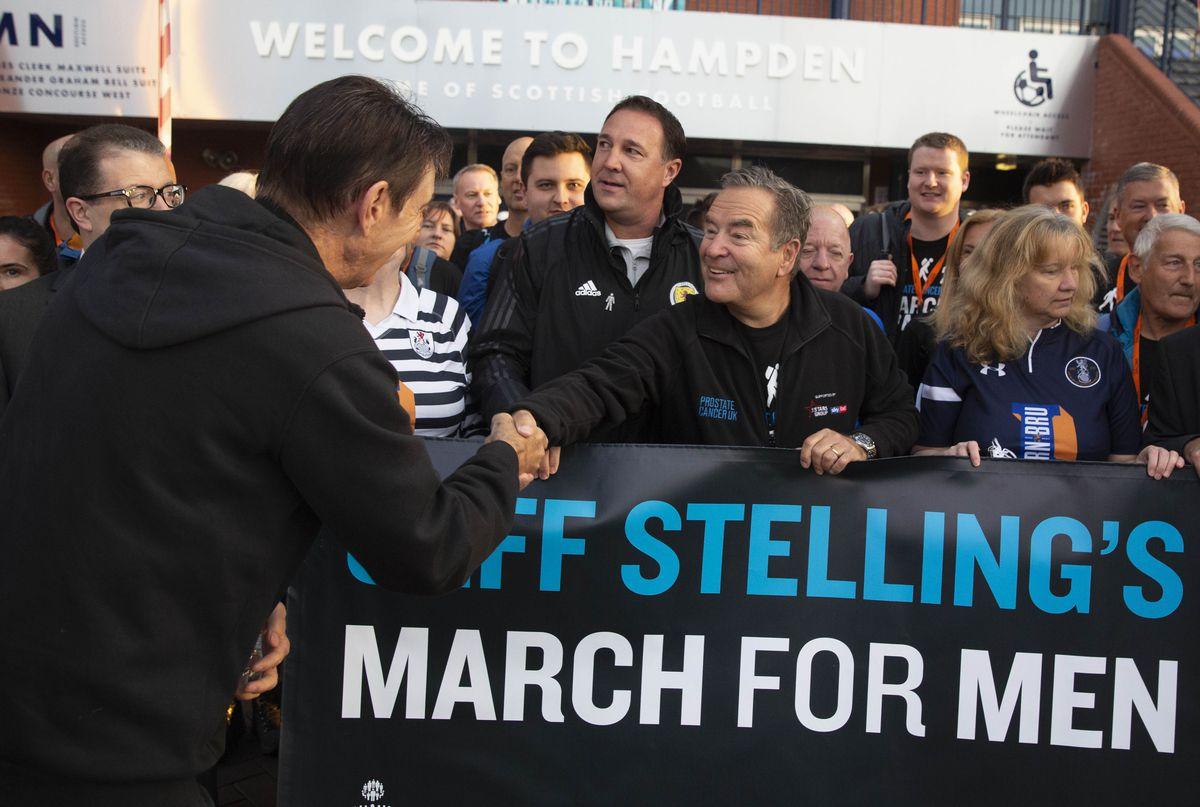 Jeff Stelling March For Men