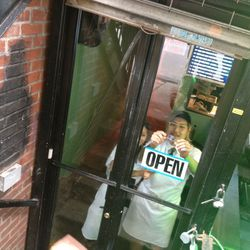 Danny Bowien officially opens Mission Chinese Food.