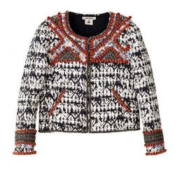 Jacket with Beaded Embroidery, $399